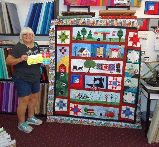 Me Quilt Shoppe Participates In The Row By Row Experience