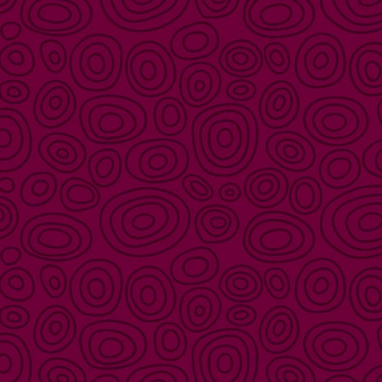 Reddish Violet Ellipse Rings 664-RV