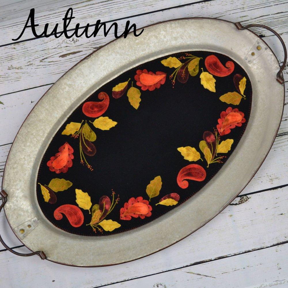 Autumn Wool Table Mat