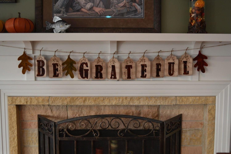 Be Grateful Banner