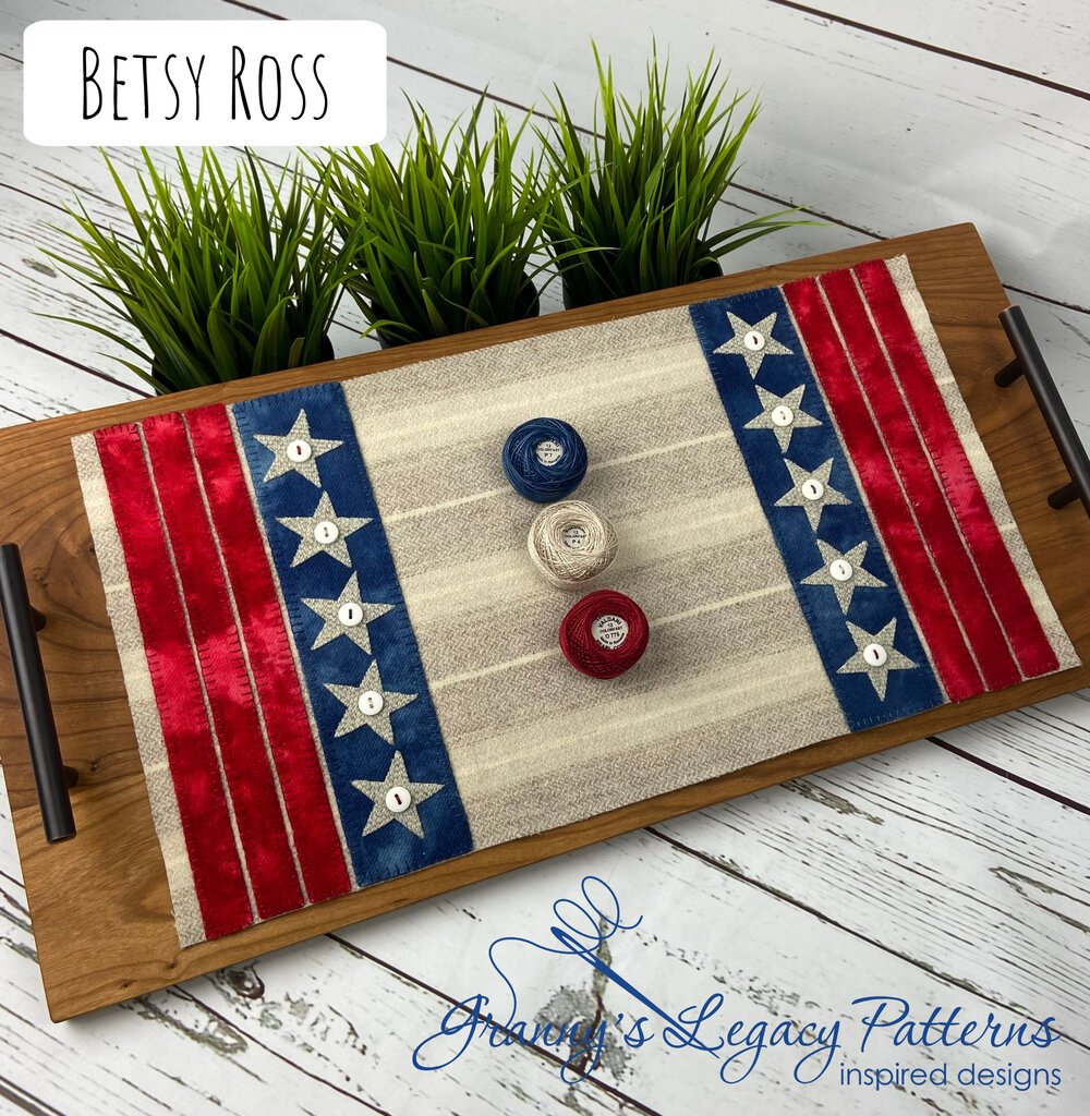 Betsy Ross Table Mat