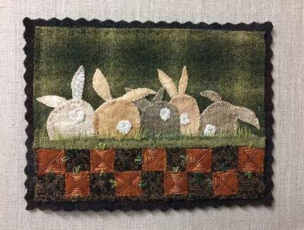Carrot Patch Wool Mat Kit