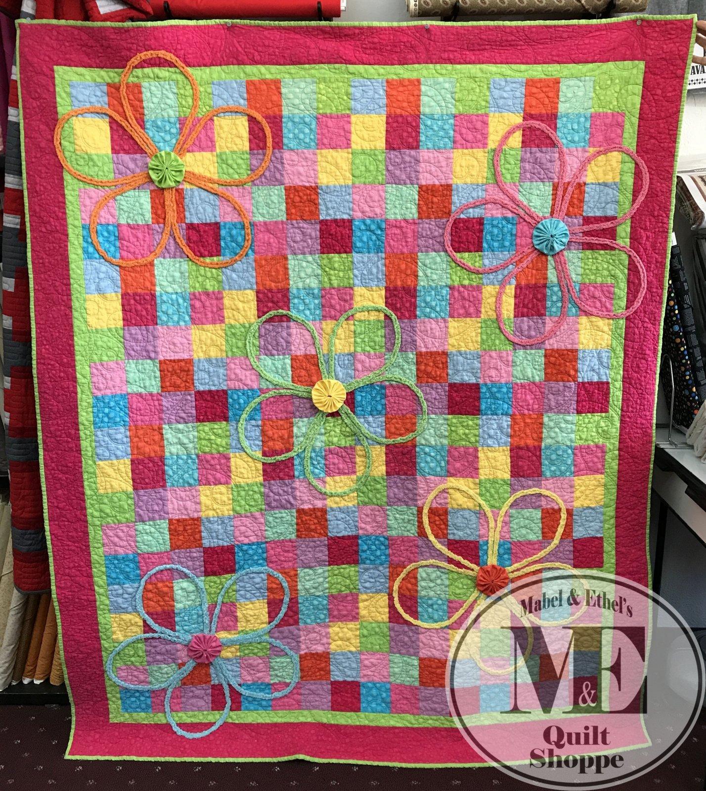 ME Flower Garden Quilt Kit