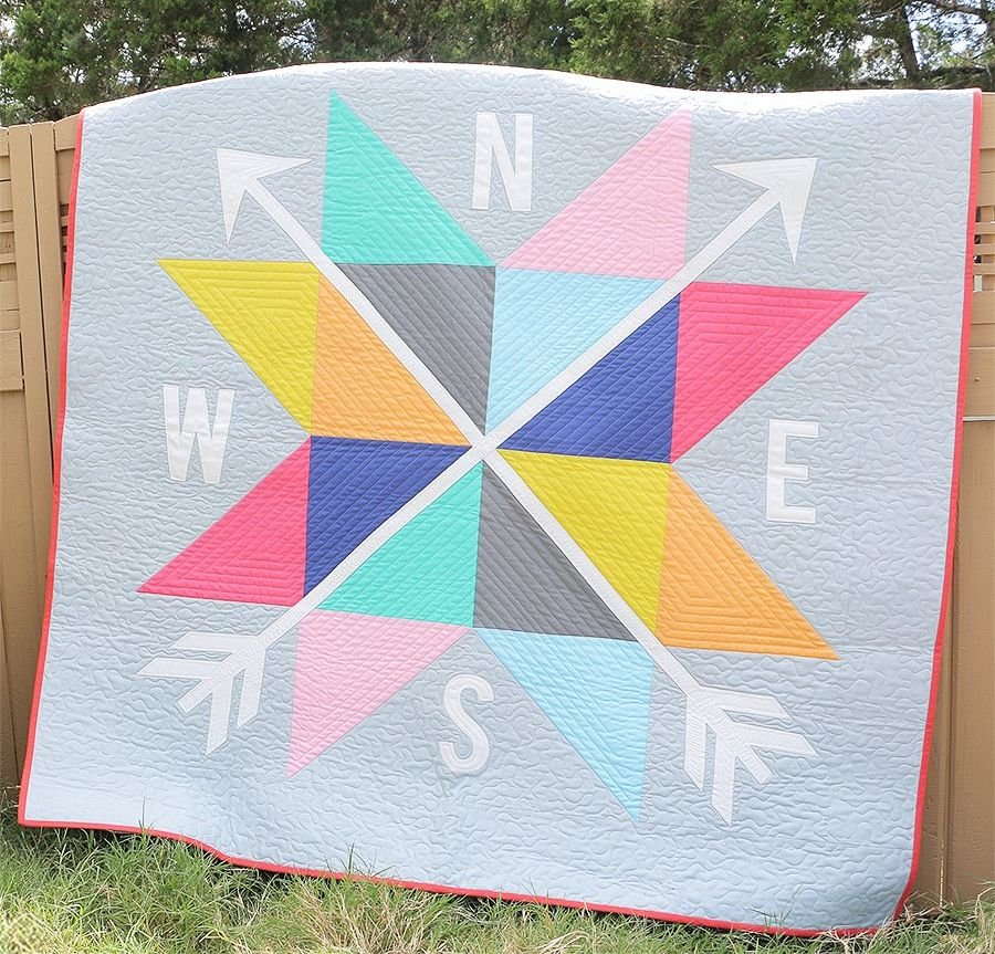 Bella Compass Quilt Kit