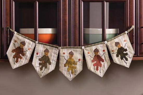 Dance of the Autumn Leaves Kit (Acorn People Banner)