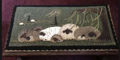 Ewe Love Willows Wool Mat Kit