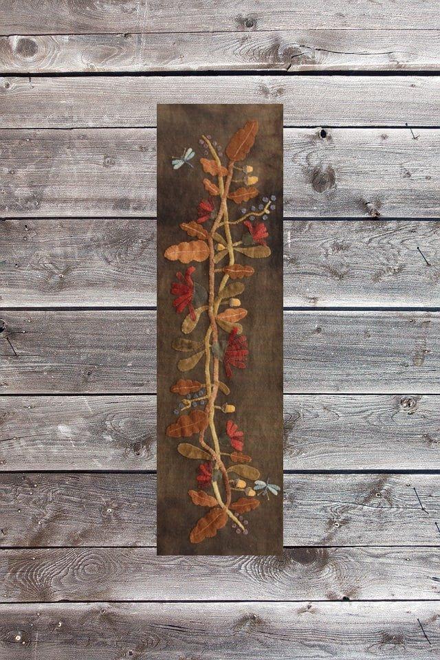Flowers, Berries and Acorns by Maggie Bonanomi