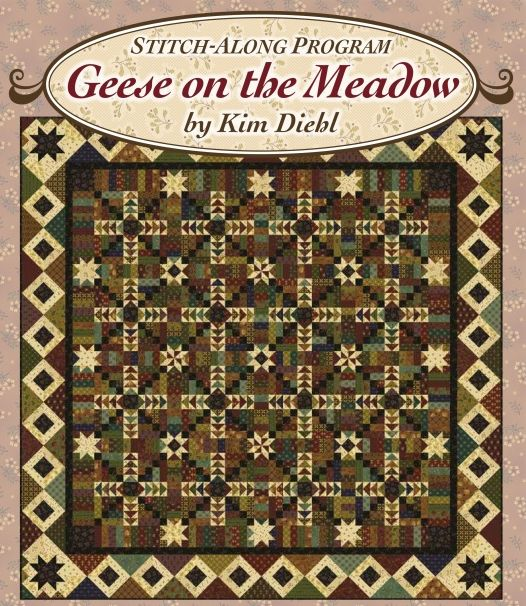 Geese on the Meadow Quilt Kit by Kim Diehl