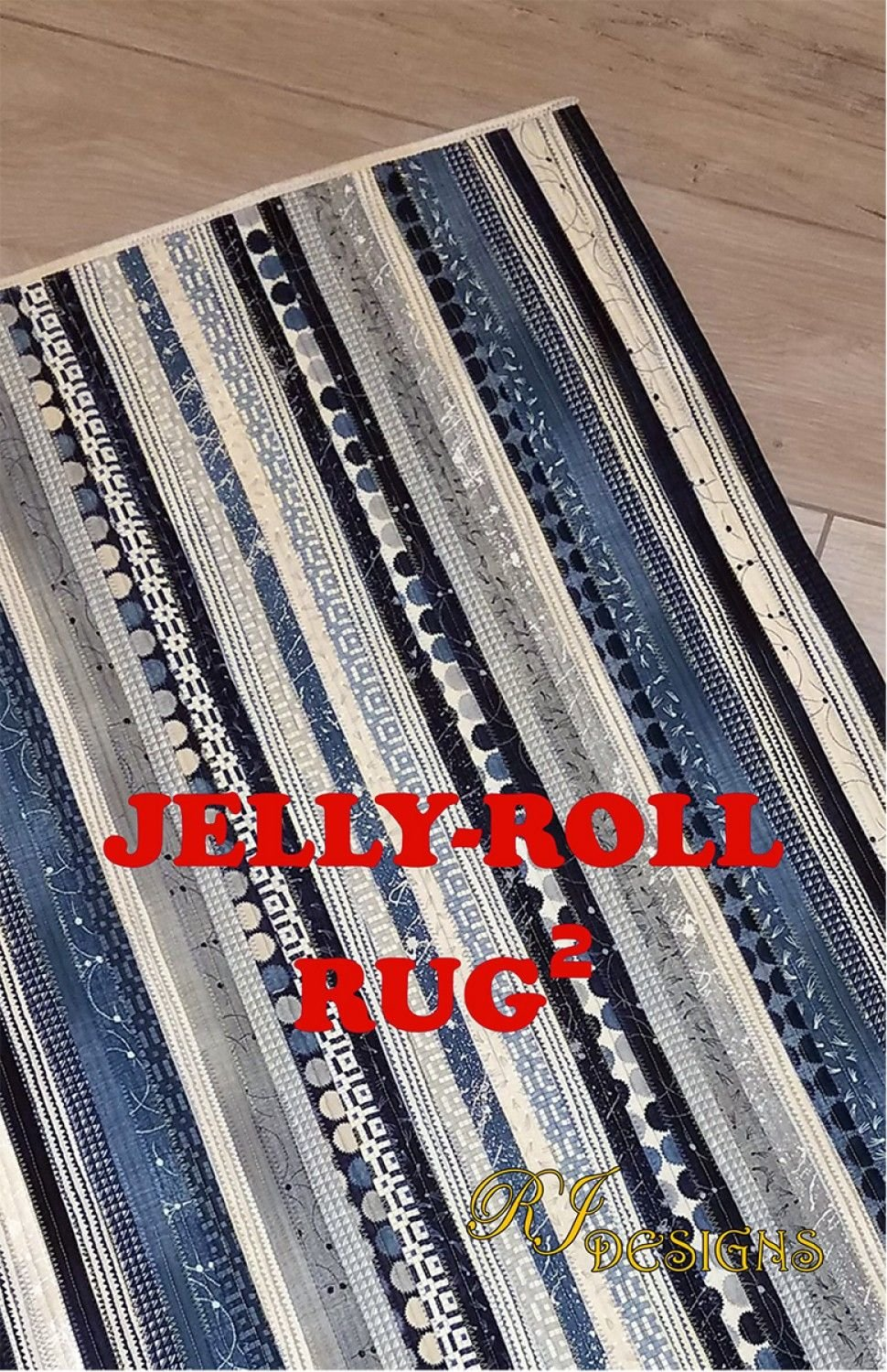 Jelly Roll Rug 2 (rectangle)