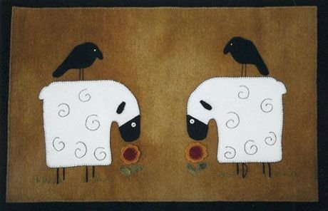 Love in the Spring Tablemat / Wall Hanging