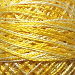 M12 - Spring Lights - Shades of Light Yellow Lemon White Size 12