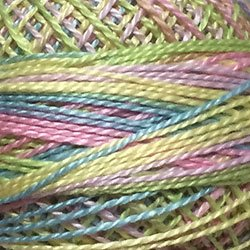 M20 - Pastels - Lime Yellow Blue Pink Size 12