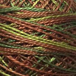 M78 - Copper Leaf - Soft Greens Copper Beige Size 12