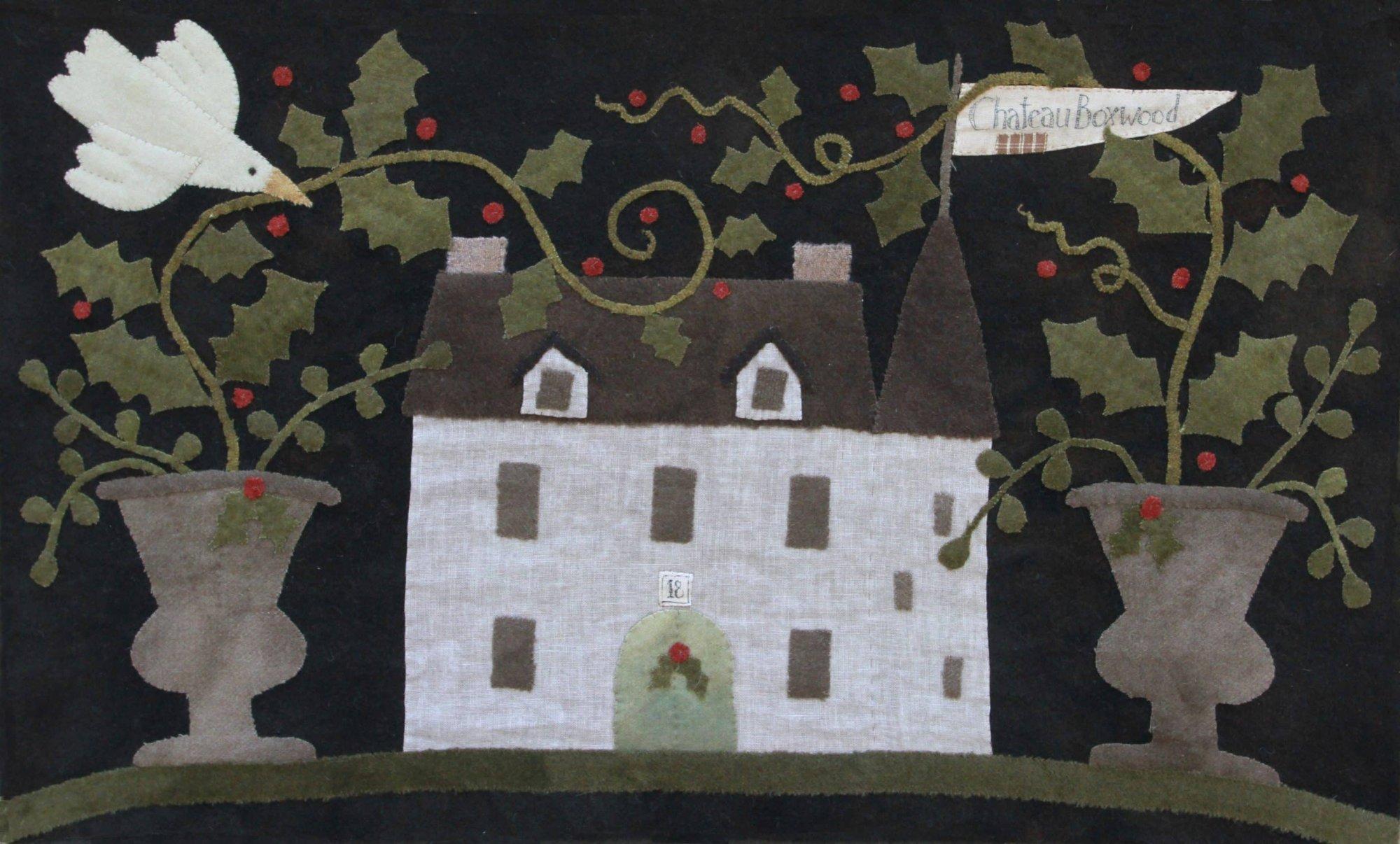 Chateau Boxwood Pattern by Maggie Bonanomi
