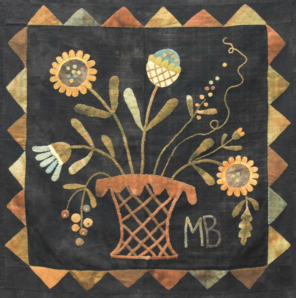 Wild Flowers of Summer Pattern (small version) by Maggie Bonanomi