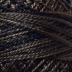 O501 -  Ebony Almond - Black/Charcoal Greys Size 12