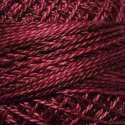O507 -  Rich Wine - Rose Burgundy Muted Mulberry Fuchsia Size 12