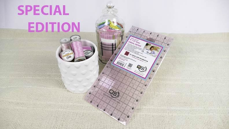 Quilter's 6 x 12 Select Special Edition Breast Cancer Awareness Ruler