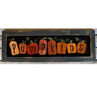 Pumpkins Sign Kit