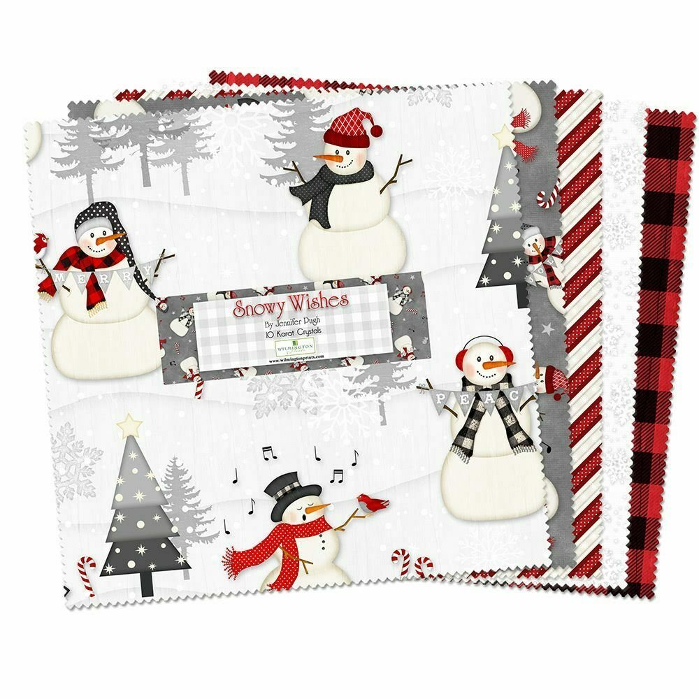 Snowy Wishes 10in Square Pack