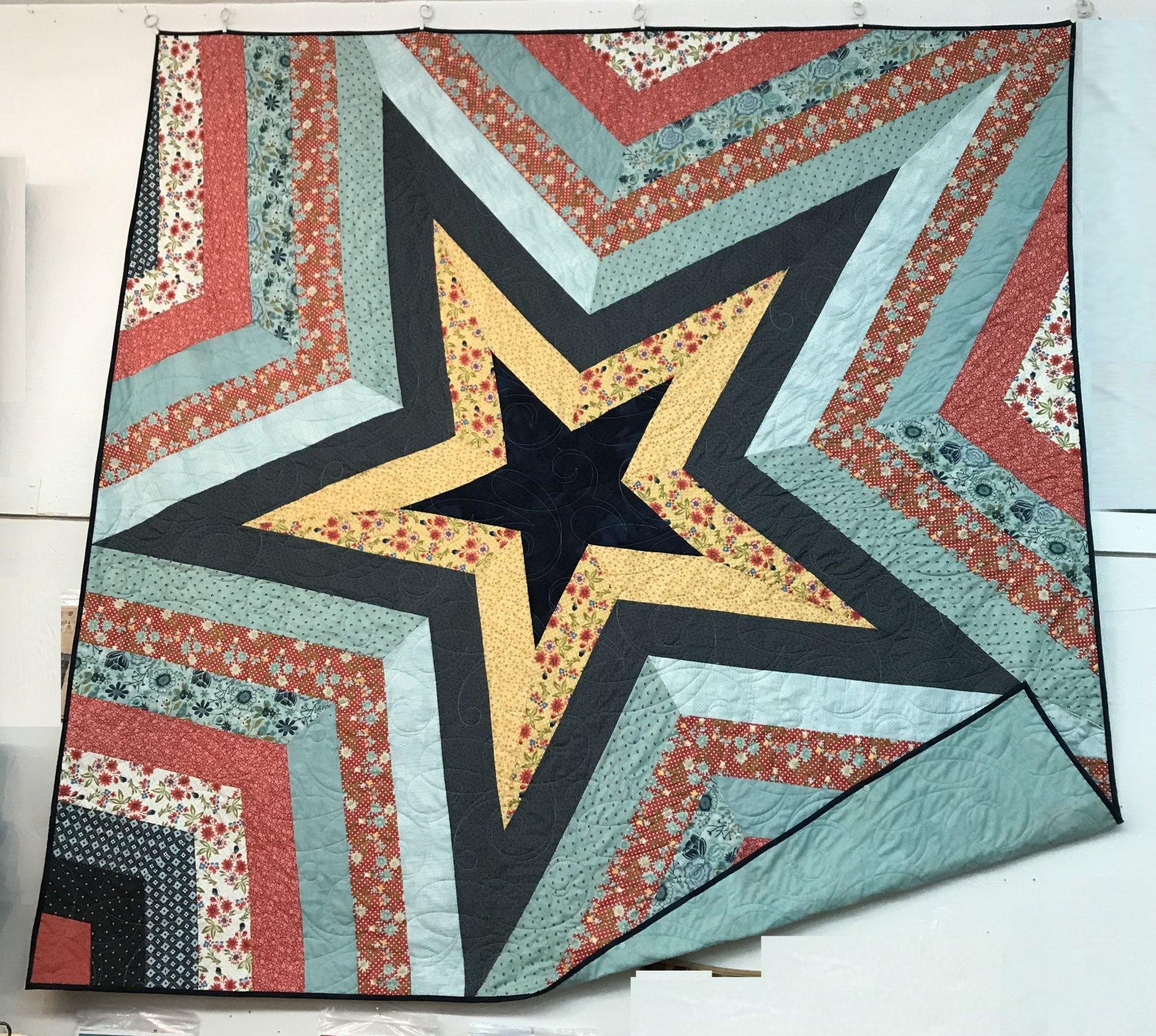 Star Storm Quilt Kit