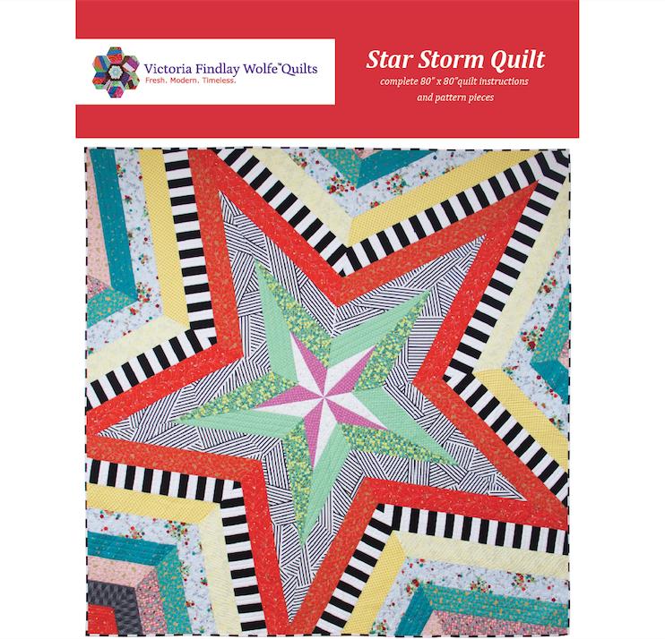 Star Storm Quilt 80 x 80