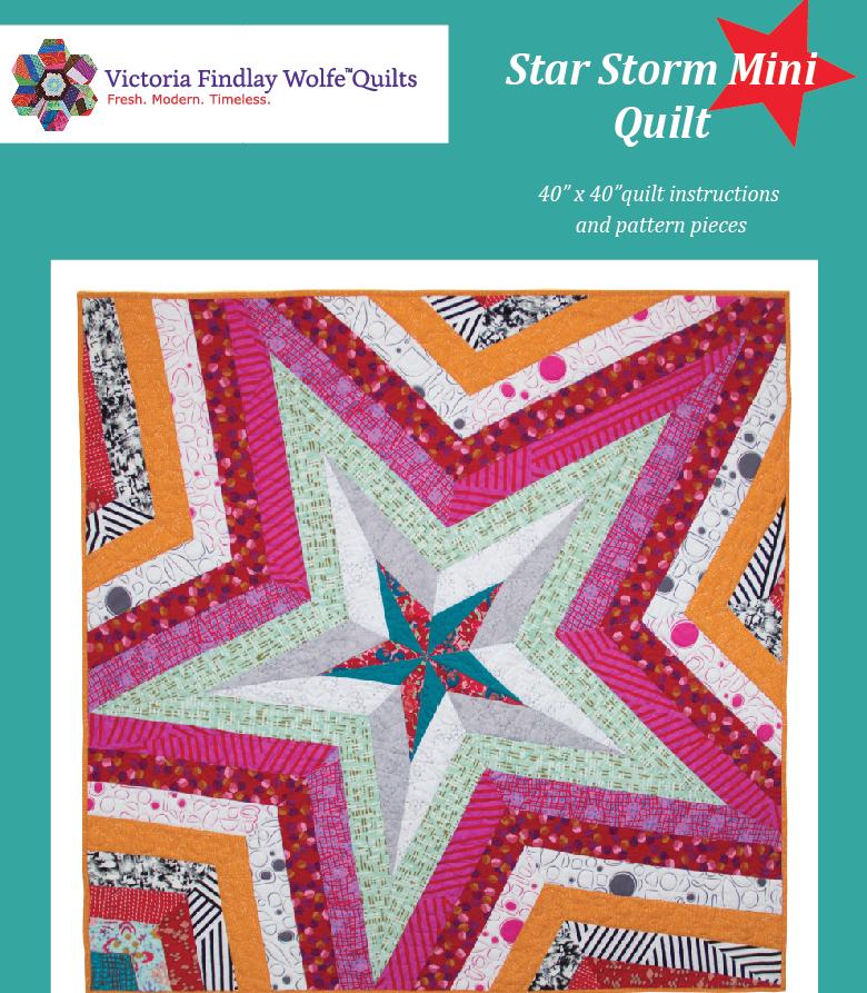 Star Storm Quilt Mini 40 x 40