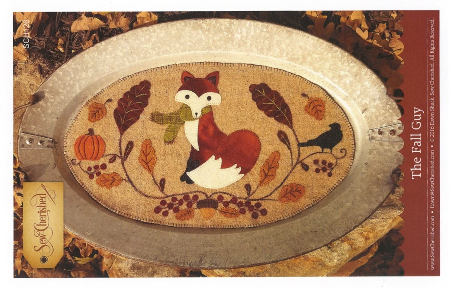 The Fall Guy Wool Tablemat / Tin Tray Mat