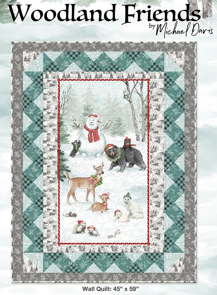 Woodland Friends Wall Quilt Kit