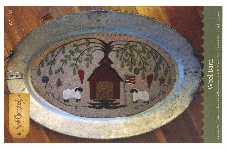Wool Barn Tablemat / Tin Tray Mat