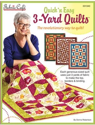 3 Yard Quick n Easy Quilts - 897086000389 : quilt lovers hangout - Adamdwight.com
