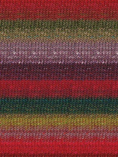 Taiyo-Sock-Brick, Green, Tan