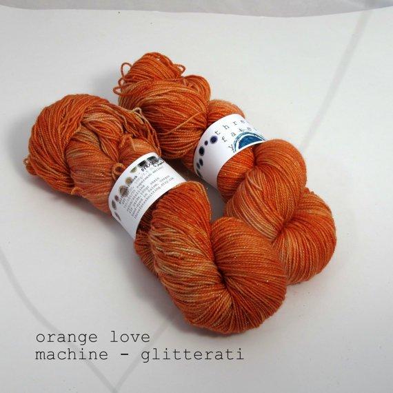 Gliterrati-Orange Love Machine