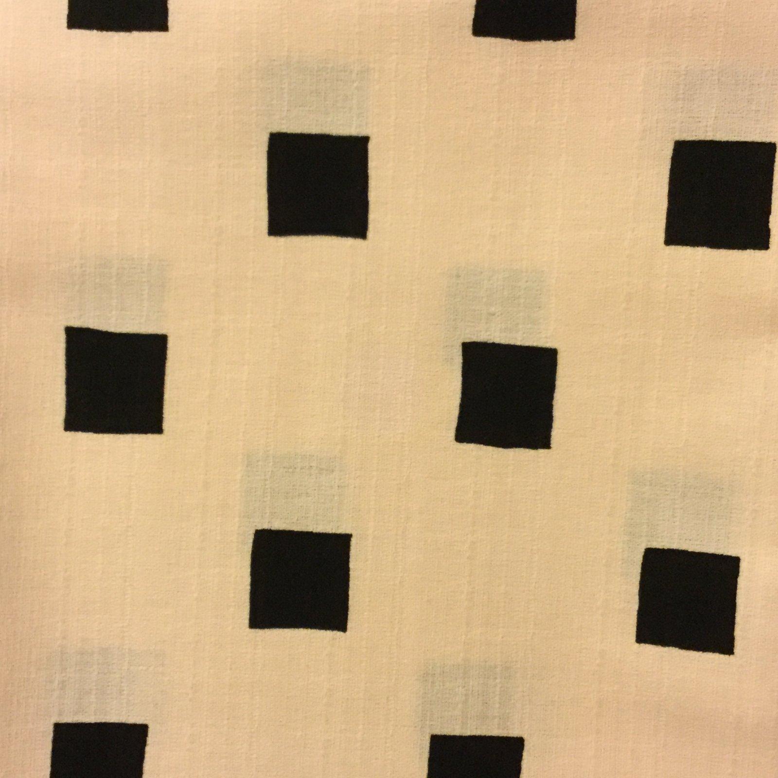 Hokkoh - Bark Cloth - Squares - White