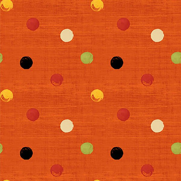 Poppy Love-Orange Dot