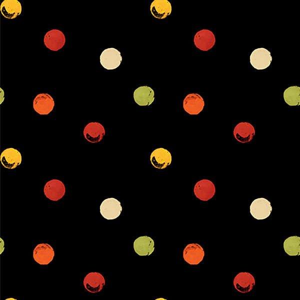 Poppy Love-Black Dot