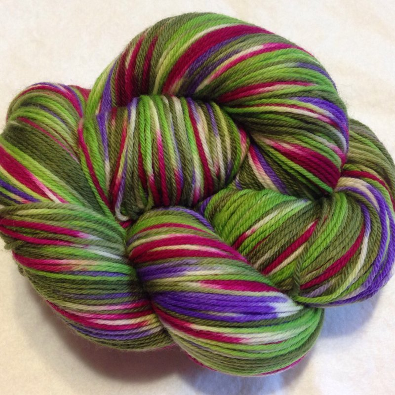 Abstract Fibers SuperSock-Floribunda