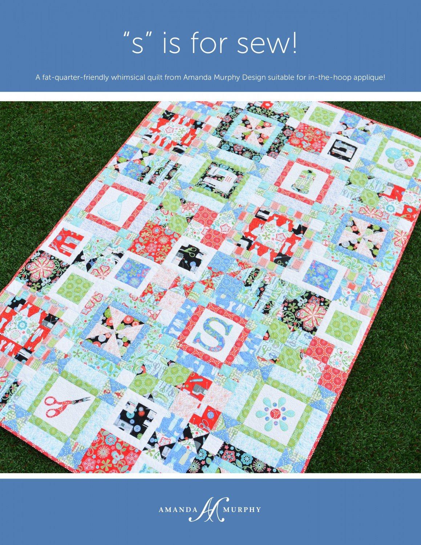 Amanda Murphy Designs - S is for Sew!