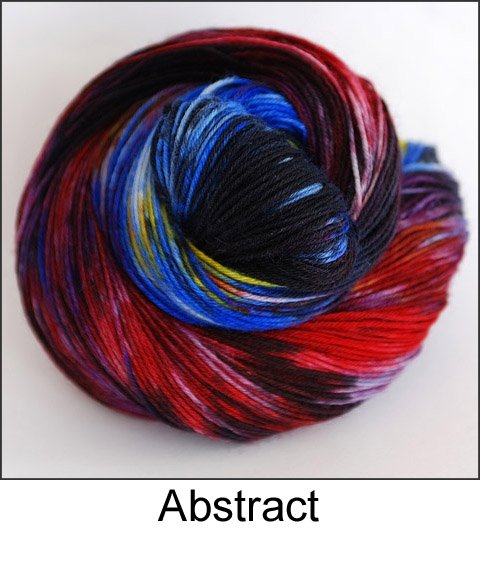 Ancient Arts - 4 ply Fingering - BFL - Abstract