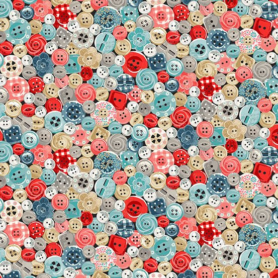 Makeower UK - Stitch in Time - Buttons - Multi