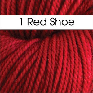 Anzula - For Better or Worsted - 1 Red Shoe
