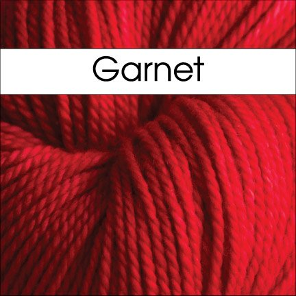 Anzula - For Better or Worsted - Garnet