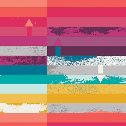 Art Gallery Fabrics - Avantgarde - Steps Above Prism