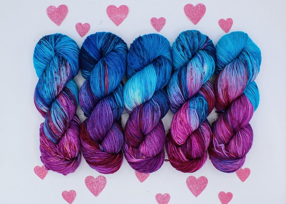 Baah Yarns - La Jolla - February 2019 - Limited Edition Colorway