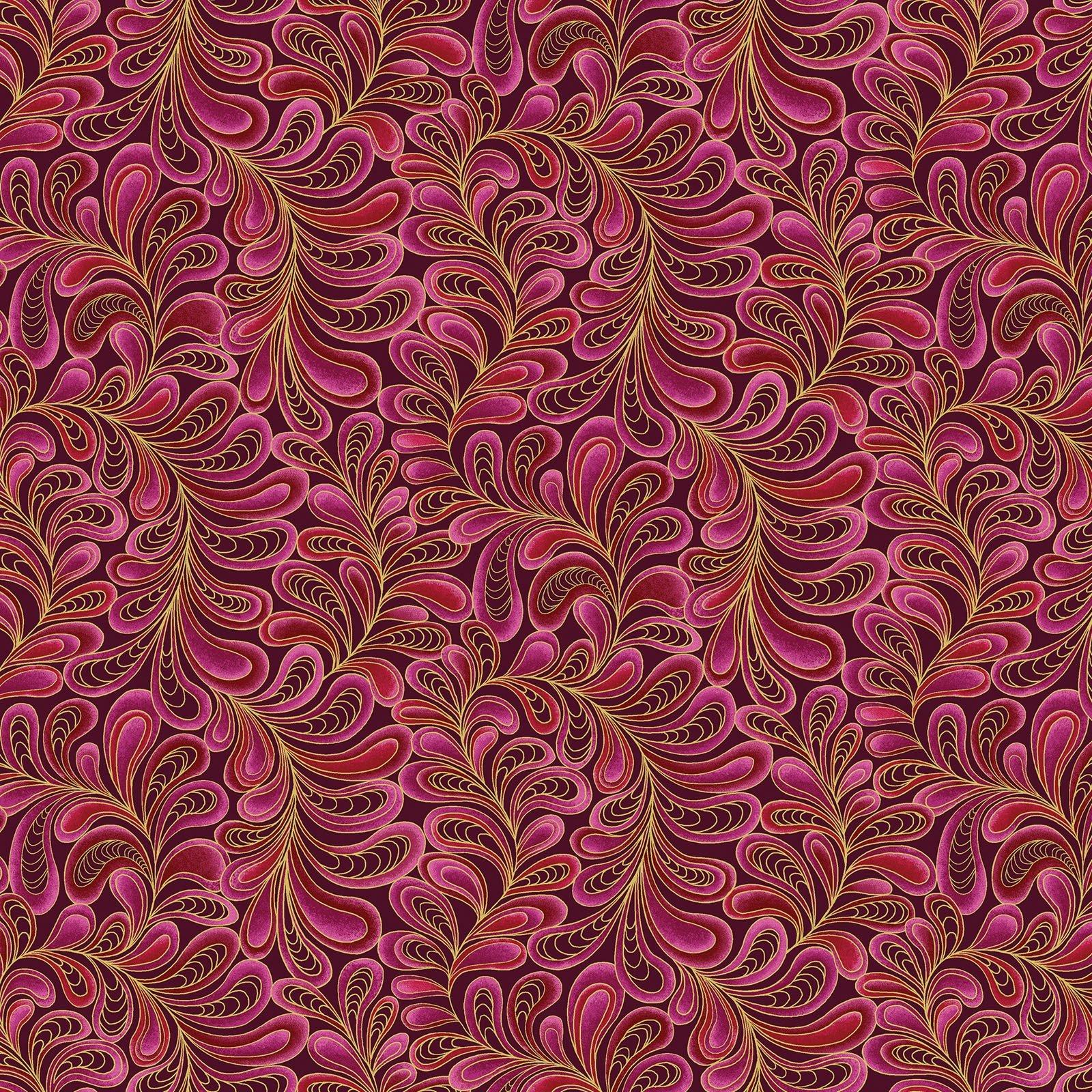 CAT-I-TUDE - Feather Frolic -Raspberry