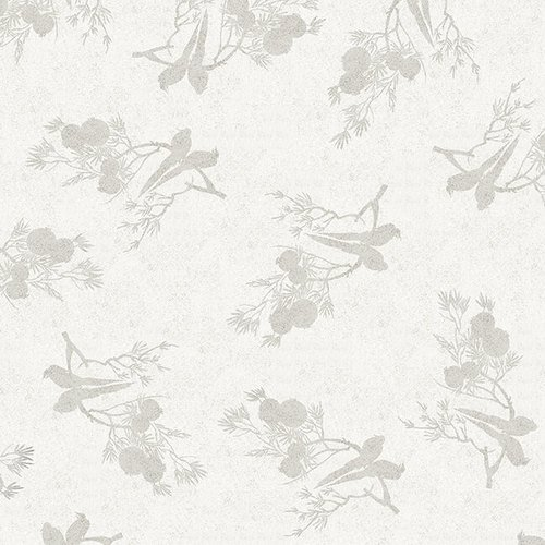Blank Quilting - Narumi - Birds on Branches - Off White