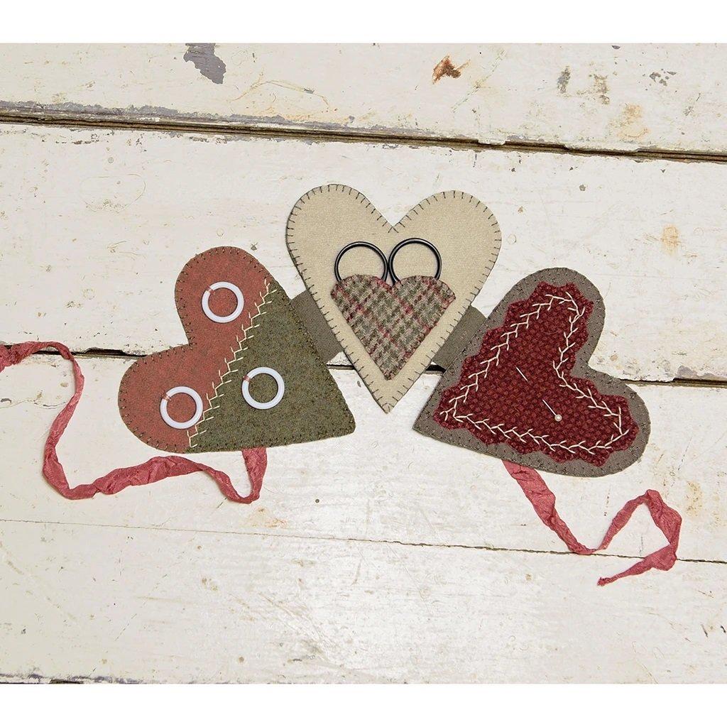 Buttermilk Basin Quilt Patterns - Heart NeedleKeep & Hanging Heart