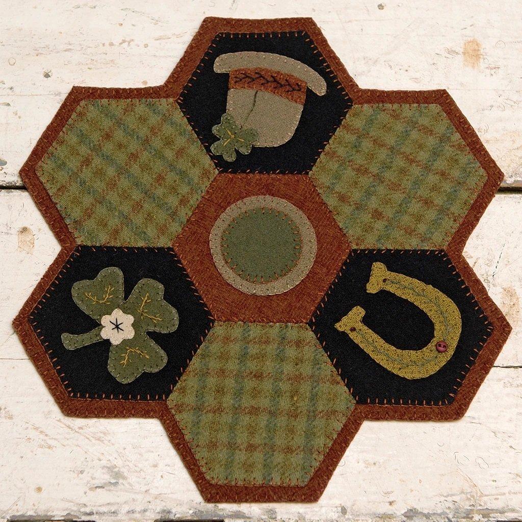 Buttermilk Basin Quilt Patterns - Hexi Mat - March