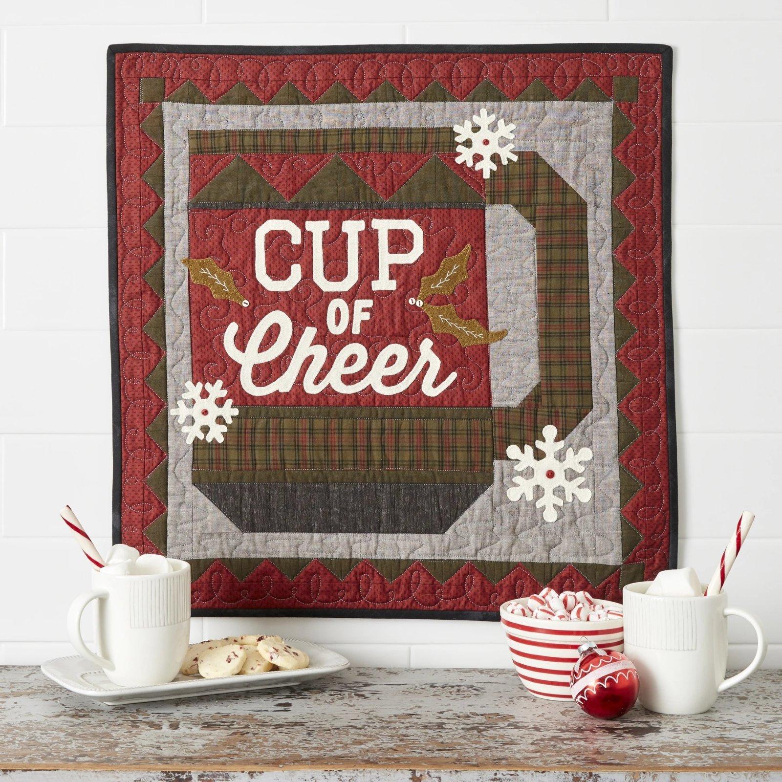 Buttermilk Basin Quilt Patterns - Cup of Cheer Quilt 22