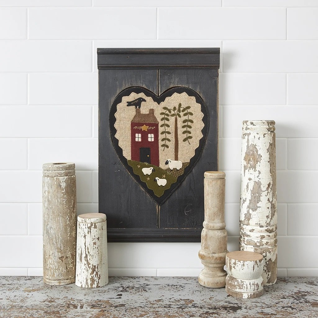 Buttermilk Basin Quilt Patterns - Gathered Hearts Thru The Year - June